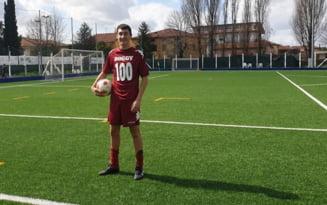 Adolescent nascut in Botosani, elogiat de presa italiana!