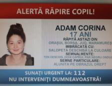 Adolescenta din Maramures, care ar fi fost rapita, a fost gasita in Arad
