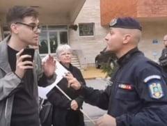 Adolescentul care l-a infruntat pe seful jandarmilor din Mures a primit amenda chiar de ziua lui, dupa 5 luni