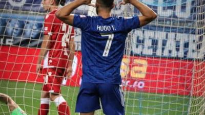 Adrian Mutu, prima victorie pentru FC U Craiova în Liga 1 chiar în fața lui Dinamo. La pauză au fost incidente între suporteri