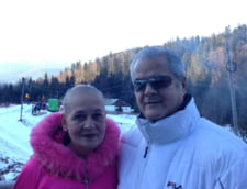 Adrian si Dana Nastase la munte