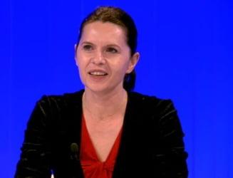 Adriana Saftoiu: Cred ca lui Basescu ii pare rau ca sunt purtator de cuvant al PDL