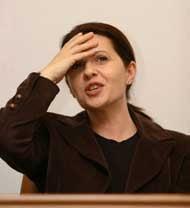 Adriana Saftoiu: Nu am sustinut numirea domnului Saftoiu la SIE