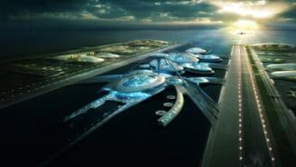 Aeroport plutitor in estuarul Tamisei (Video)