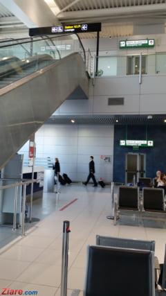 Aeroportul Otopeni a ramas fara paza si servicii de curatenie