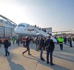 Aeroportul din Hamburg a fost evacuat de urgenta din cauza unui gaz toxic UPDATE