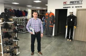 Afacere de succes pentru un fost fotbalist sibian - Iulian Pitigoi e acum antreprenor de top