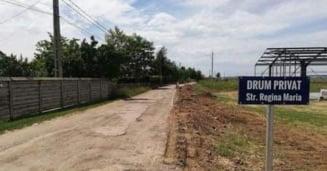 Afacerea anului la Iasi! Patronii de la Agroindustriala Bucium vand 4 hectare de drumuri private catre comuna Barnova