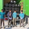 Afgani prinsi la Vama Bors cand incercau sa treaca ilegal in Ungaria. Se ascunsesera intr-un camion plin cu tevi metalice