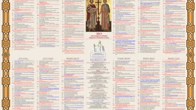 Calendar Ortodox 2022.Afla Cand Pica Pastele Pana In 2026 Mobile
