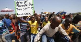 Africa: 12.000 de muncitori concediati, in urma grevei minerilor
