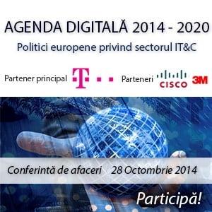 Agenda Digitala 2014-2020 - Politici europene privind sectorul IT&C