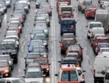 Aglomeratie in trafic, din cauza inceputului de an scolar