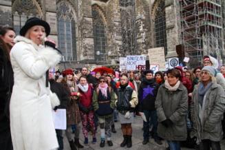 Agresiuni sexuale la carnavalul din Koln: Numar record de plangeri