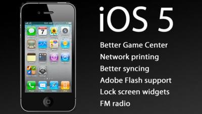 Ai iPhone sau iPad? Vezi ce iti pregateste noul iOS 5