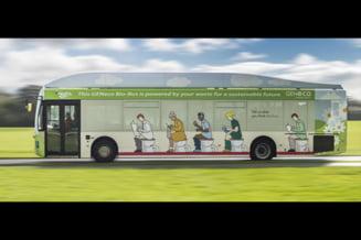 Ai merge cu un autobuz alimentat cu excremente?