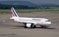 Air France anunta ca pana la 25% dintre zborurile sale de luni vor fi anulate din cauza grevei pilotilor