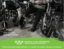 Ajuta-i sa traiasca fiecare zi ca si cum NU ar fi ultima - HOSPICE lanseaza campania de 2% pentru cei diagnosticati cu o boala incurabila