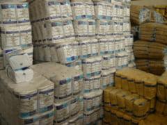 Ajutoare UE uitate in depozite. Zeci de tone de alimente lasate sa se strice