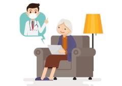 Ajutor pentru varstnicii din Sibiu - Sfaturi gratis de la medici printr-o aplicatie
