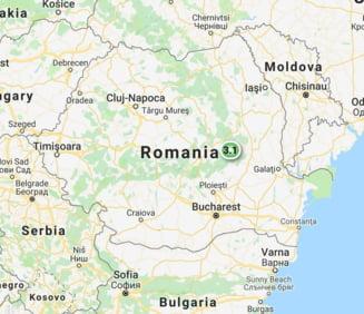Al doilea cutremur in zona Vrancea in doar 5 ore