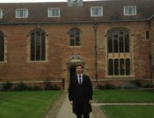 Al doilea roman student la Medicina din istoria universitatii Cambridge