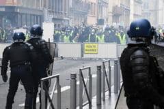 Al optulea protest al vestelor galbene: Macron vorbeste despre violenta extrema si spune ca se va face dreptate (Video)