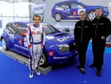 Alain Prost si Dacia Duster, a doua victorie in Trofeul Andros