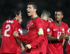 Alarma la Real Madrid: Ronaldo e accidentat si va rata un amical de gala al Portugaliei