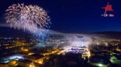 Alba Fest 2016. Cum s-a vazut Cetatea Alba Carolina, luminata feeric de focul de artificii - FOTO, VIDEO