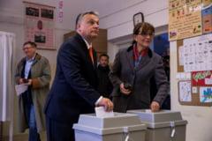 Alegeri cu prezenta record la vot in Ungaria si cozi la urne