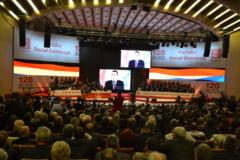 Alegeri fara competitie in PSD: Glume cu Iliescu si Cretu, judetul Timisoara si o sala goala - Reportaj