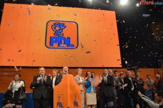 Alegeri finale in PDL - Locotenentii lui Blaga au castigat conducerea partidului