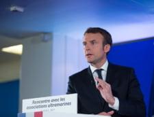 Alegeri in Franta: Macron ramane primul in sondaje si dupa atacul din Paris