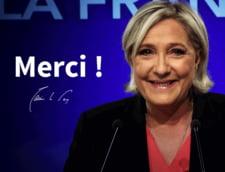 Alegeri in Franta: Desi a pierdut, Marine Le Pen a obtinut un numar record de voturi. Vezi ce a declarat
