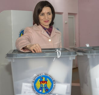 Alegeri in Moldova: Maia Sandu, la 200.000 de voturi distanta de Europa