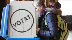 Alegeri locale 2020. Un alegator din Navodari a distrus cele doua buletine de vot pe care le-a primit in plus. Politia face cercetari in acest caz