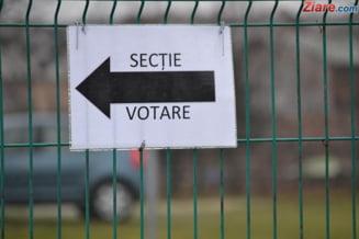 Alegeri locale partiale: Prezenta la vot de peste 45% la inchiderea sectiilor