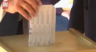 Gafă de proporții a candidatului Angelei Merkel. Votul său ar putea fi anulat VIDEO