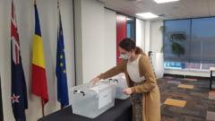 Alegeri parlamentare 2020. A doua zi a votarii in strainatate s-a incheiat in Auckland. Au votat 93 de romani