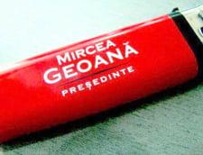 Alegeri partiale: Un candidat ecologist imparte brichete cu Geoana din 2009