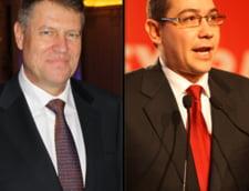 Alegeri prezidenatiale 2014: Primele oferte pentru dezbateri intre Ponta si Iohannis