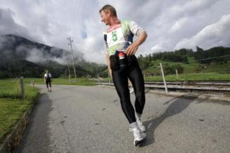 Alergatul inapoi arde de doua ori mai multe calorii