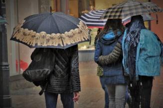 Alertă de ploi, vijelii și grindină în peste jumătate de țară