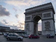 Alerta cu bomba in Paris. Zona Arcului de Triumf a fost evacuata