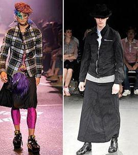 Alerta in moda masculina: Se poarta fustele!
