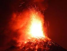 Alerta portocalie in Guatemala, dupa ce un vulcan a erupt