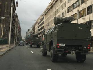 Alerta terorista la Bruxelles: Televiziune evacuata - se cauta o bomba - UPDATE