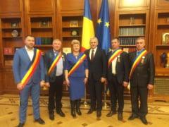 Alesii locali unionisti din Republica Moldova, consultari cu partidele politice din Romania