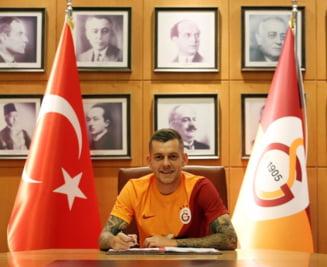 Alex Cicâldău, Universitatea Craiova, a semnat pentru Galatasaray